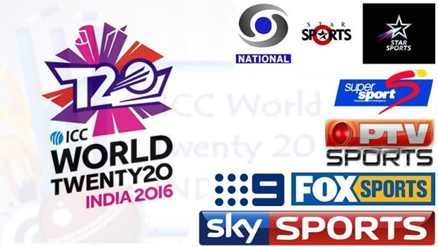 T20 World Cup 2016 Live Telecast 1